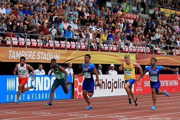 Juarai Kejuaraan Atletik U-20 di Filandia, Muhammad Zohri Panen Pujian