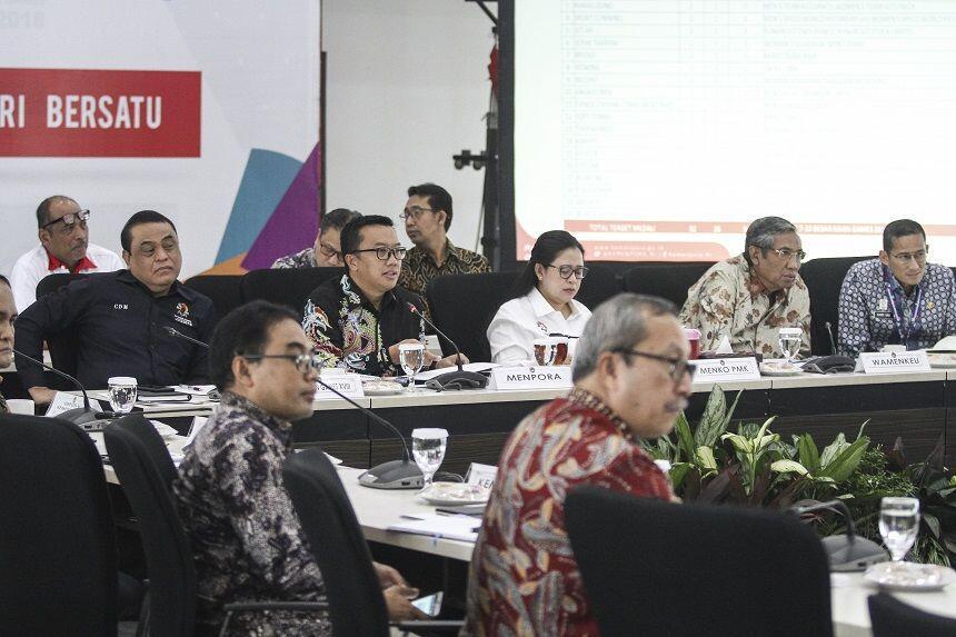 Pimpin Rapat Persiapan Asian Games,Puan Undang Semua Ketua Cabor