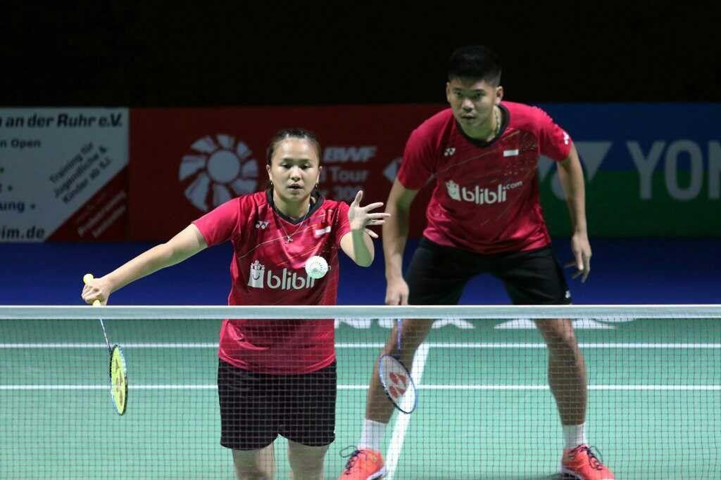 4 Ganda Campuran Indonesia Takluk di Tangan Juara Eropa Tahun Ini