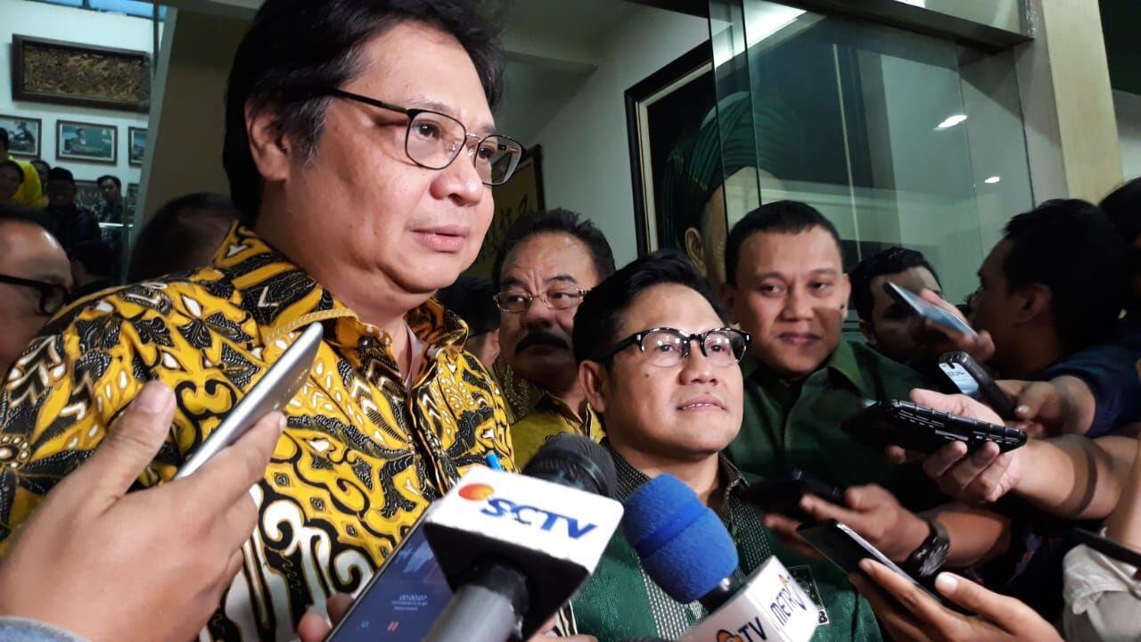 Bertemu SBY, Airlangga Ajak Demokrat Gabung Koalisi Jokowi