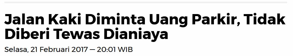 DPRD Medan Minta Dinas Perhubungan Tindak Jukir Liar, Parlaungan