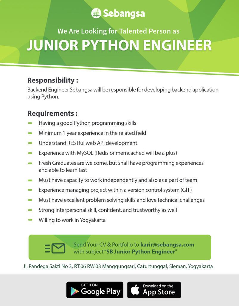 Junior Python Engineer