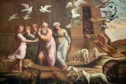 Dialah Nabi Nuh,Sang Penyelamat, dan sang Pencipta bank DNA Pertama Di dunia