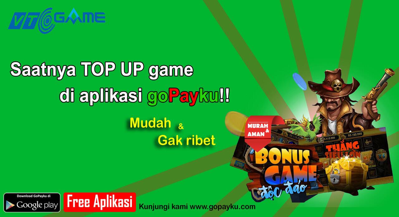 SAATNYA TOP UP GAME DI APLIKASI GOPAYKU