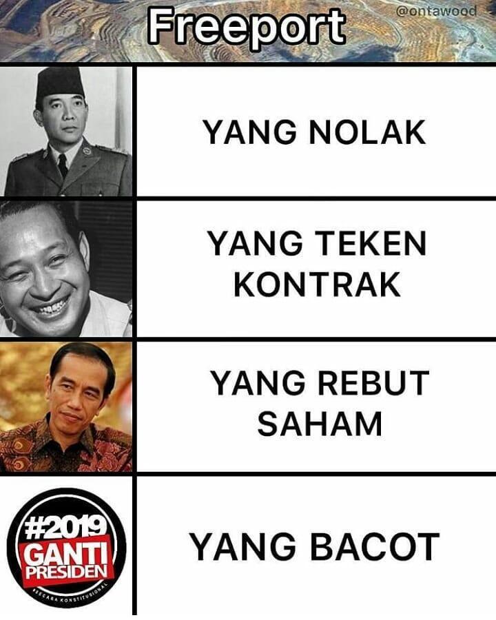 Waketum Gerindra Tuding Jokowi Ngibul soal Saham Freeport