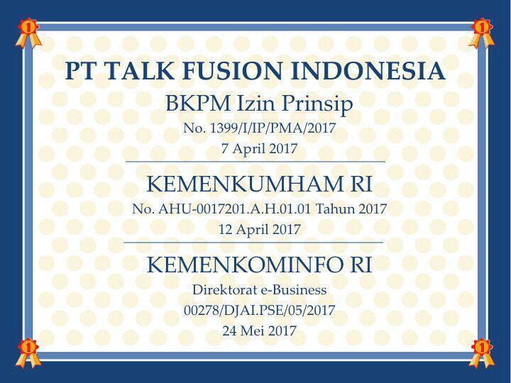 TALK FUSION INDONESIA #WorldwideBusiness