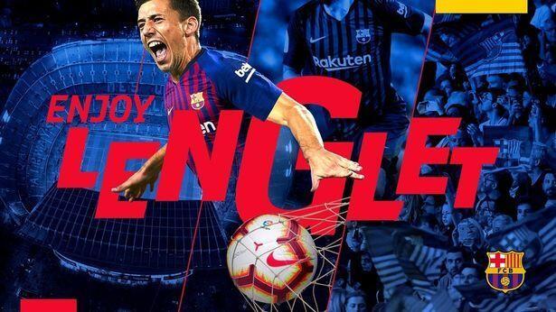 Resmi! Clement Lenglet Bergabung dengan Barcelona