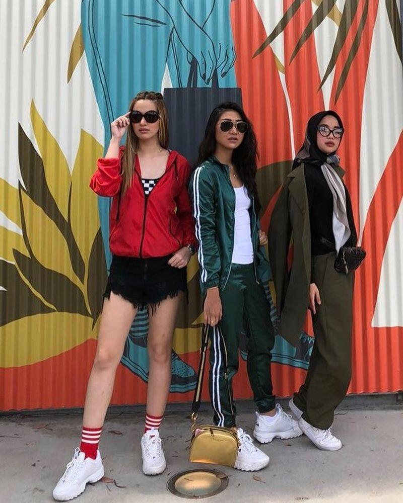 10 Potret Chacha Frederica Liburan bareng Girls Squad di Amerika
