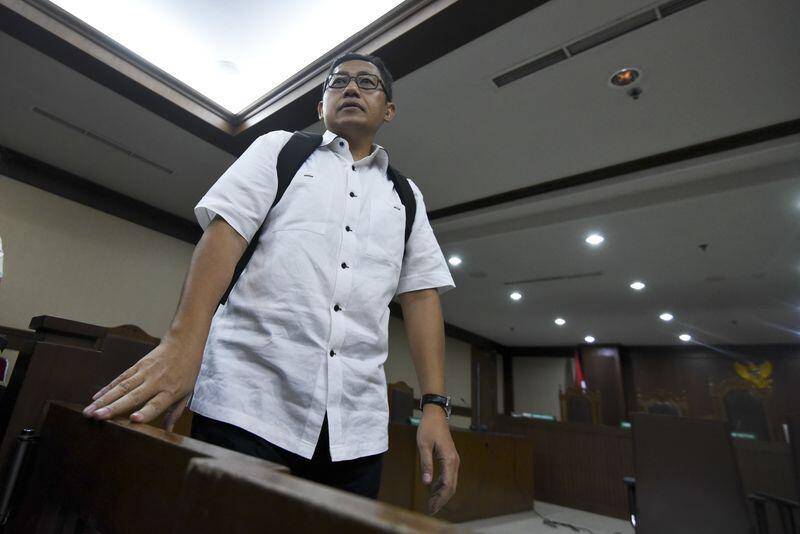 Anas Urbaningrum Minta Majelis Hakim Agar Dibebaskan dari Hukuman