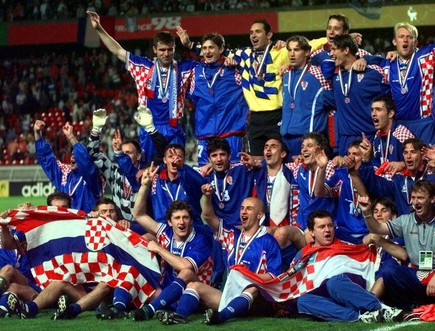 Masuk Final, Anggota Parlemen Memakai Jersey Timnas Kroasia