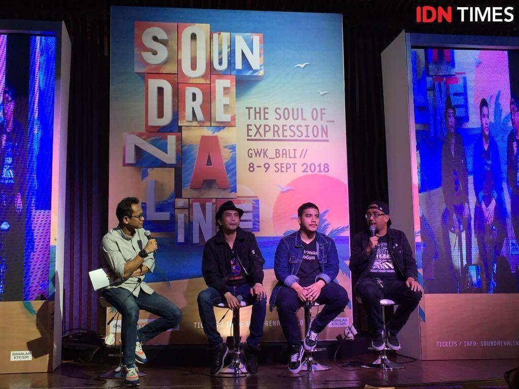Limp Bizkit hingga Sheila On 7 Akan Guncang Bali di Soundrenaline 2018