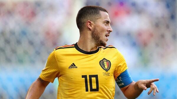 Top Player of the Match Belgia vs Inggris: Eden Hazard
