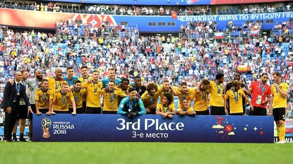 Prestasi Terbaik Belgia di Piala Dunia Diraih di Rusia