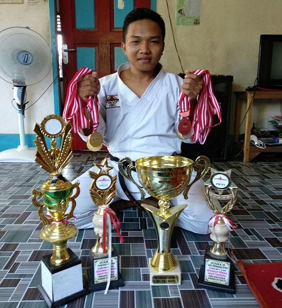 5 Fakta Fauzan Juara Karate Dunia yang Berbanding Terbalik dengan Nasib Zohri