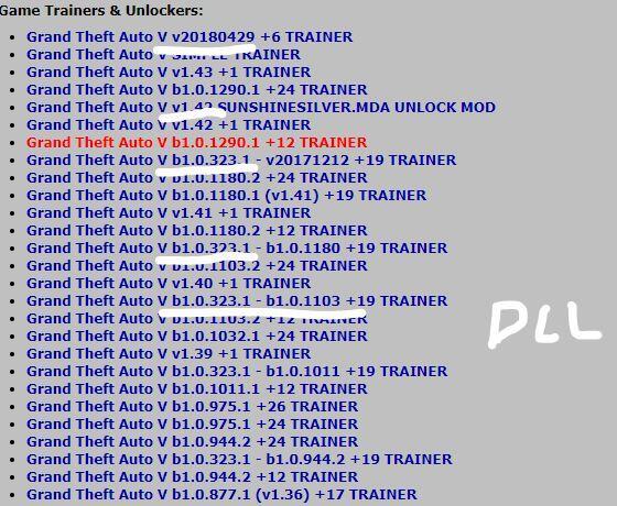 Menyoo Trainer