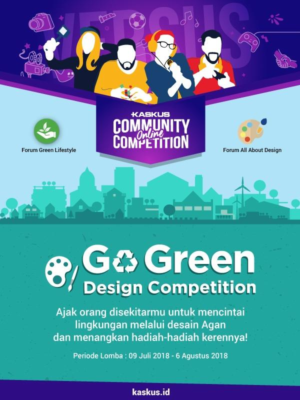[COC Special Edition] Kompetisi Design e-Poster Go Green