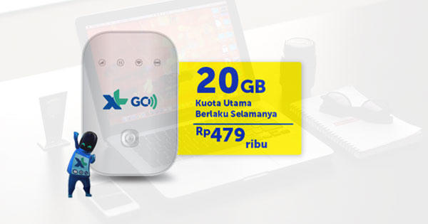 Membuktikan Kemudahan XL GO IZI untuk Berbagai Perangkat Gadget Kaskuser