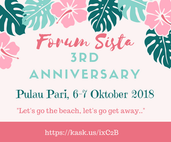 [INVITATION] Gathering & Vacation 3rd Anniversary Forum Sista