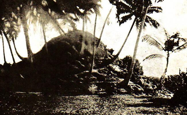 Reruntuhan Kerajaan Buddhis di Maldives