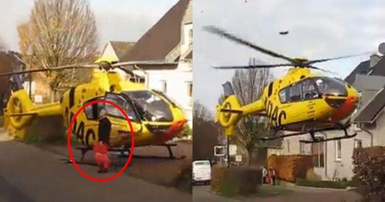 Hebat Sekarang Helikopter Bisa Parkir Di Depan Rumah
