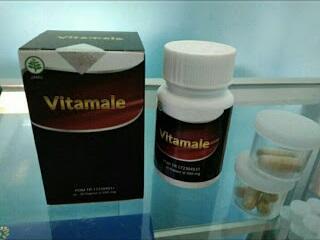 Vitamale Obat Kuat Herbal Khusus Pria Dewasa Dengan Lesensi BPOM