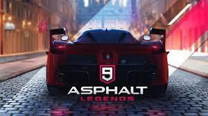 [android/ios] Asphalt all series - mobile - fokus di asphalt 9