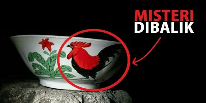Mengungkap Maksud Tersembunyi Mangkuk Dengan Logo Ayam Jago