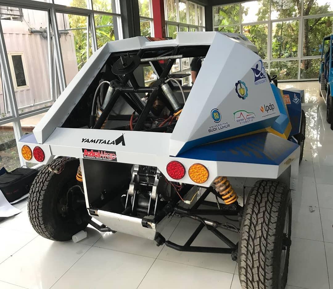 Mobil Listrik ITS Siap Ikuti Rally Dakar #IniIndonesiaku