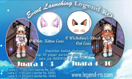 Legend RO ( Pre Renewal Private Server Ragnarok )