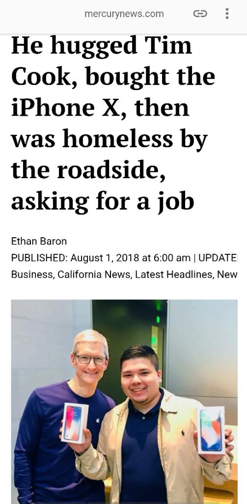 Sepenggal kisah penggemar iPhone X di Silicone Valley