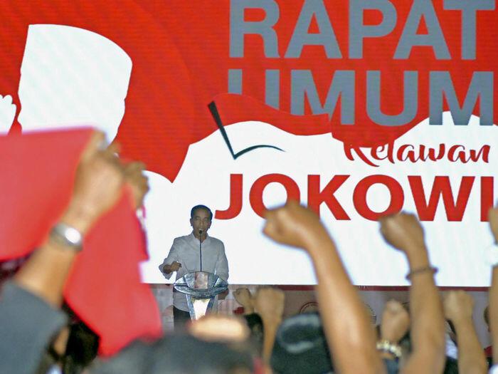 Benarkah Jokowi provokasi pendukungnya untuk berantem