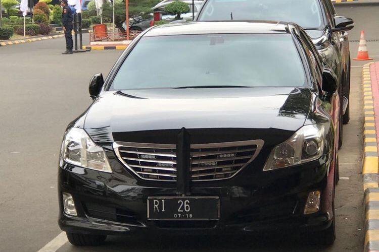 Mobil Dinas Sri Mulyani Telat Bayar Pajak