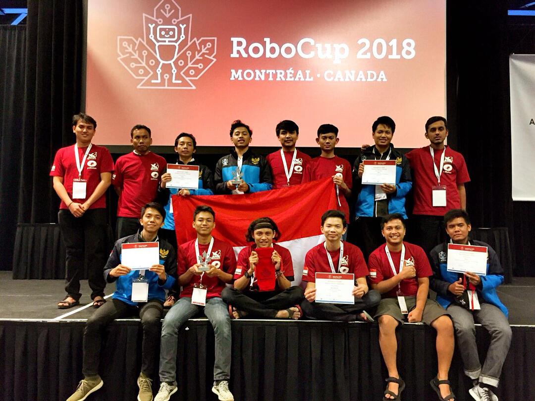 #iniindonesiaku : Robocup 2018 ajang pembuktian Indonesia dibidang Robotic