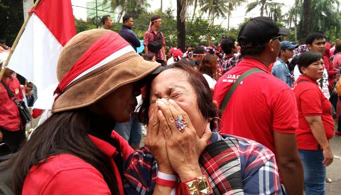Relawan Jokowi Mania Siap di Barisan Depan Hadapi Segala Risiko