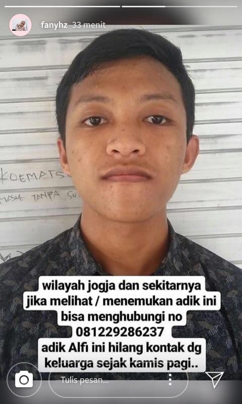 Orang Hilang Yogyakarta