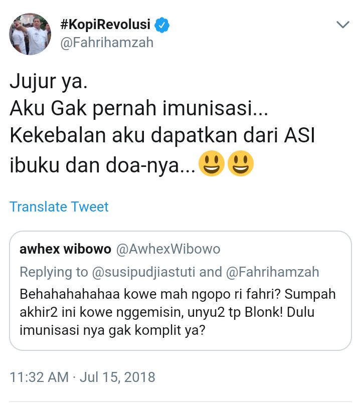 Fahri Hamzah: Wapres Itu Nggak Ada Gunanya!