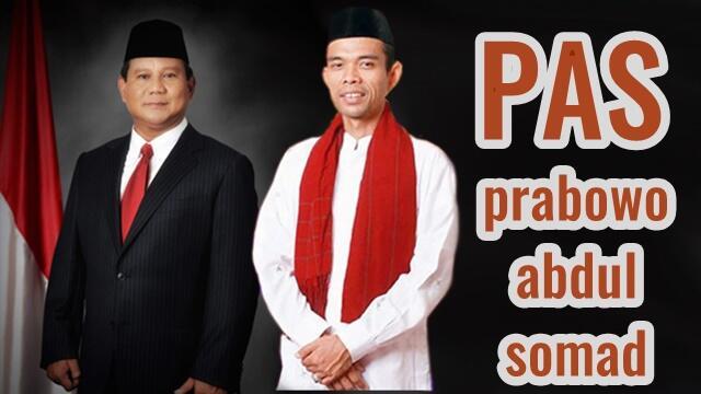 Nama UAS Cawapres Menguat, Elite Gerindra Merapat ke Rumah Prabowo