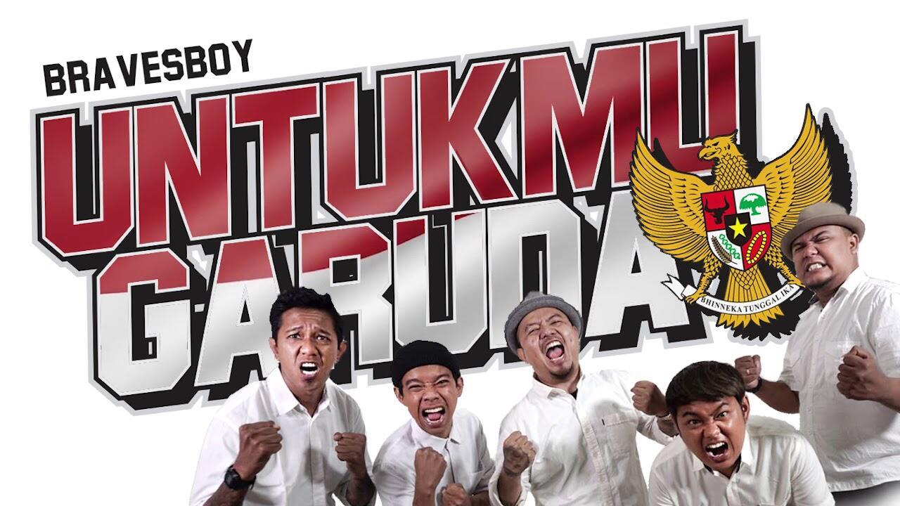 UNTUKMU GARUDA, GABUNGAN ANTHEM SUPORTER DI INDONESIA KARYA BRAVESBOY