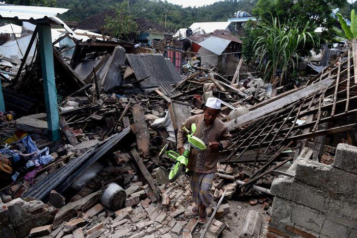 Korban jiwa akibat gempa Lombok menjadi 98 orang
