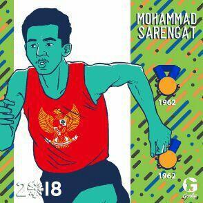 "#IniIndonesiaku Si Manusia Tercepat ""Mohammad Sarengat"""