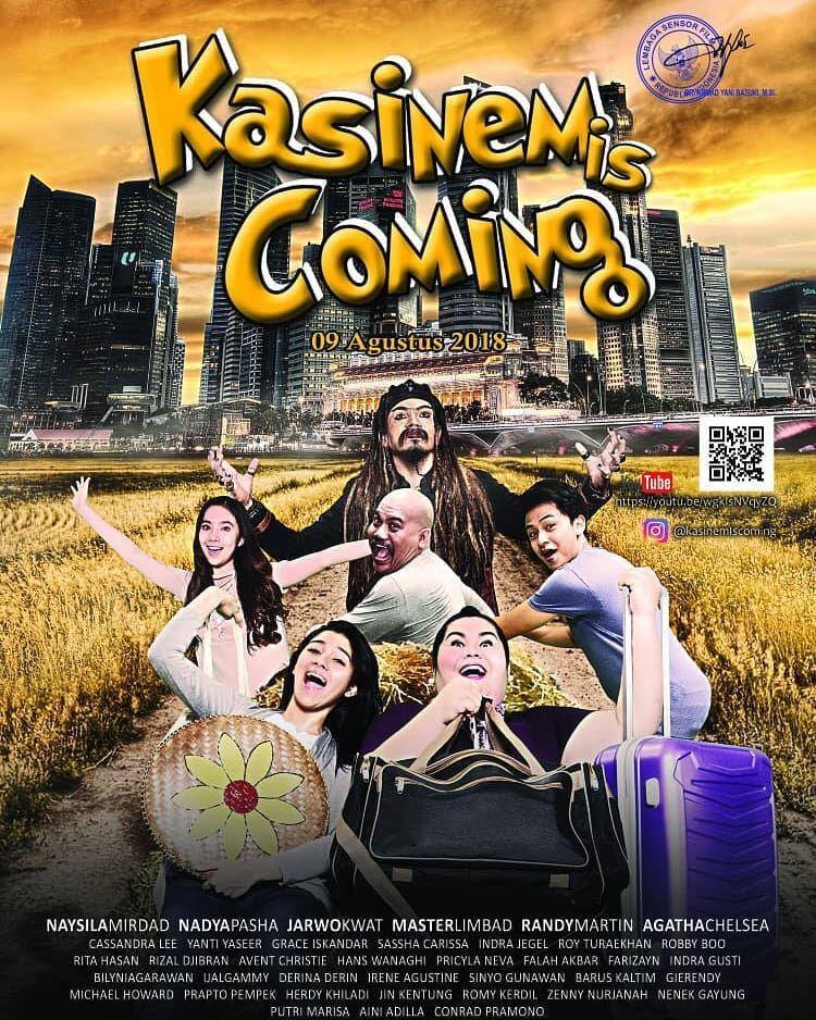 10 Potret Keseruan Naysila Mirdad di Balik Film 'Kasinem is Coming'