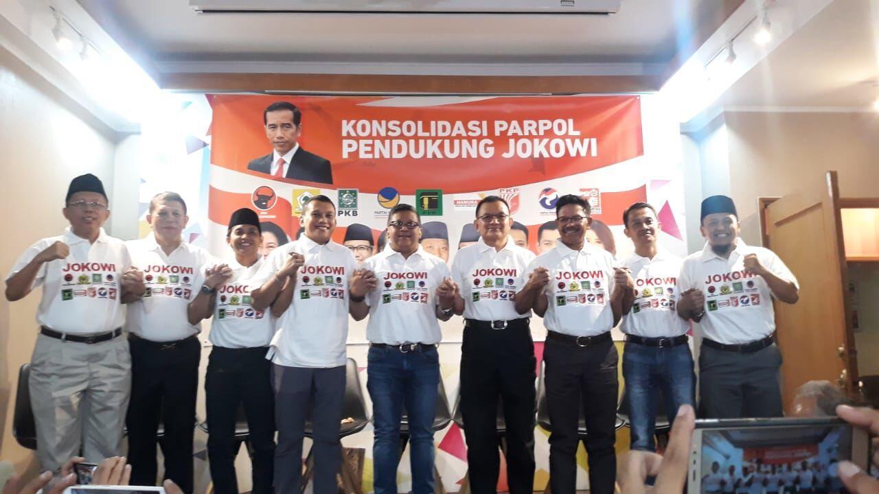 Ini Hasil Pertemuan Koalisi Jokowi, Salah Satunya Siapkan 225 Jubir