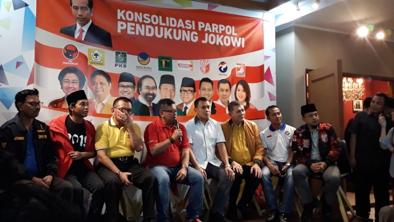Sekjen Partai Koalisi Jokowi Akan Sambangi KPU Hari Ini