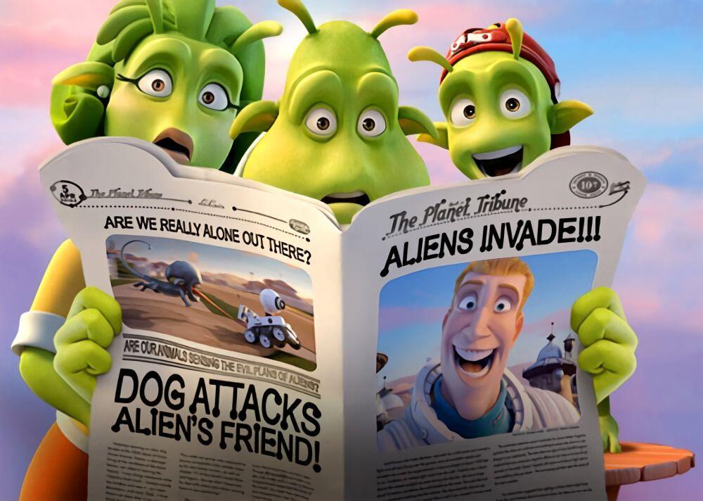 5 Film Animasi Ini Bakal Ubah Cara Pandangmu Soal Alien Lho!
