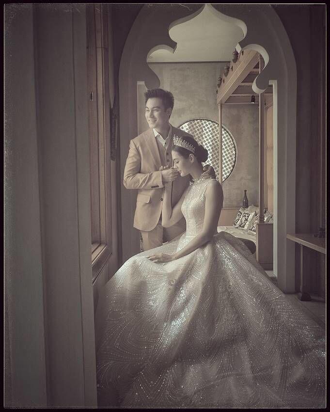 10 Potret Prewed Baim Wong-Paula Bertema Elegan, Bak Raja dan Ratu
