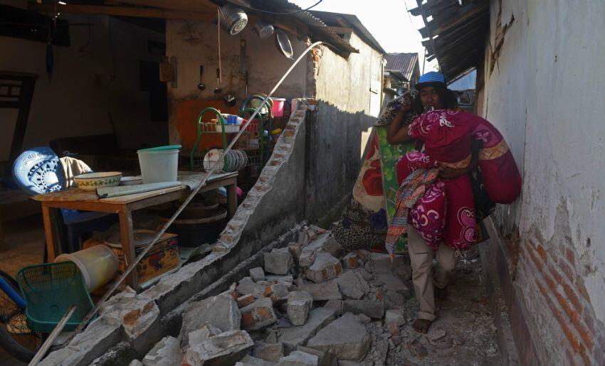 230 Kali Gempa Susulan Landa Lombok, 16 Terasa Kuat