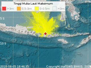 Korban Meninggal Akibat Gempa Lombok Jadi 109 Orang