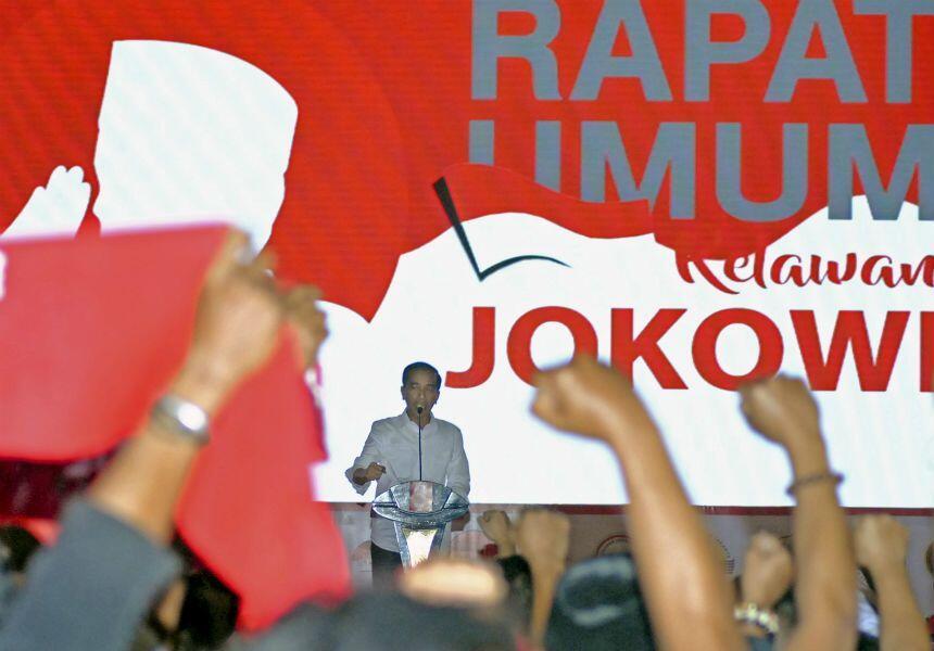 Ini Struktur Organisasi Pemenangan Jokowi di Pilpres 2019