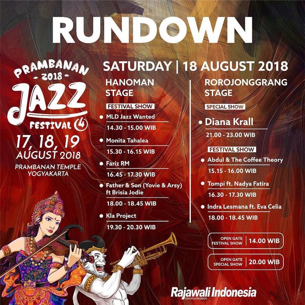 Konser hari kemerdekaan - Prambanan Jazz 2018