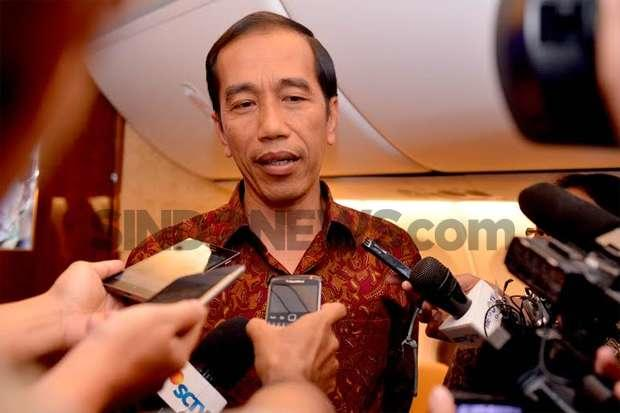 Versi Jokowi Terkait Nama Cawapres Inisial M
